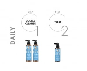 PHS HAIRSCIENCE®️ HOM Daily Deep Cleanser Daily Regime