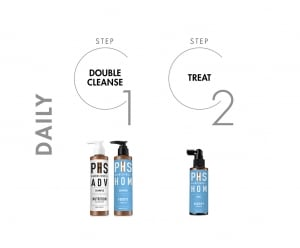 PHS HAIRSCIENCE®️ HOM Fortify Bundle Daily Regime