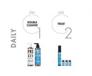 PHS HAIRSCIENCE®️ HOM Thickening Shampoo Daily Regime
