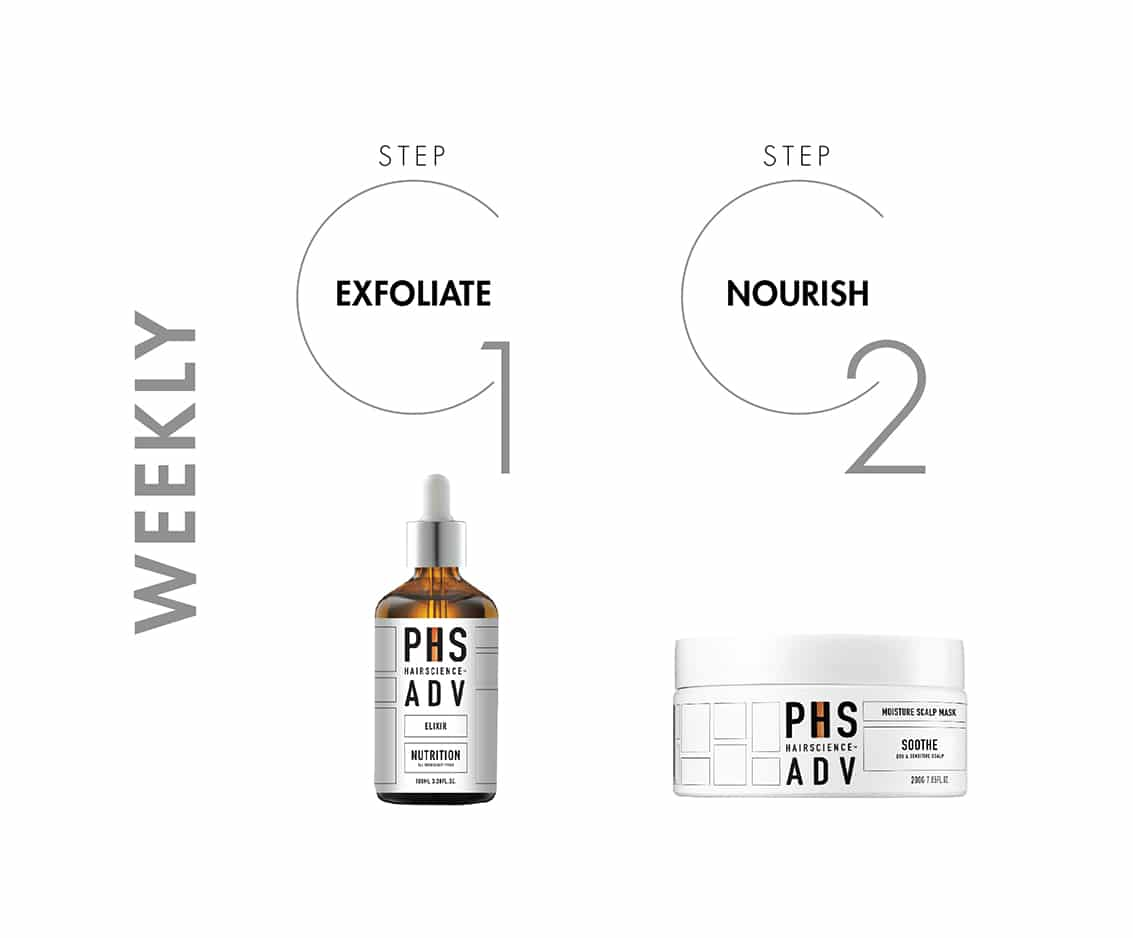 PHS HAIRSCIENCE®️ Mild To Moderate Male Hair Loss Weekly Treatment